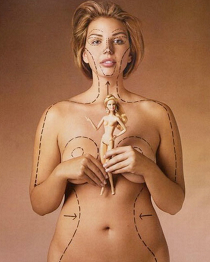 Barbies Proportions V A Real Woman S